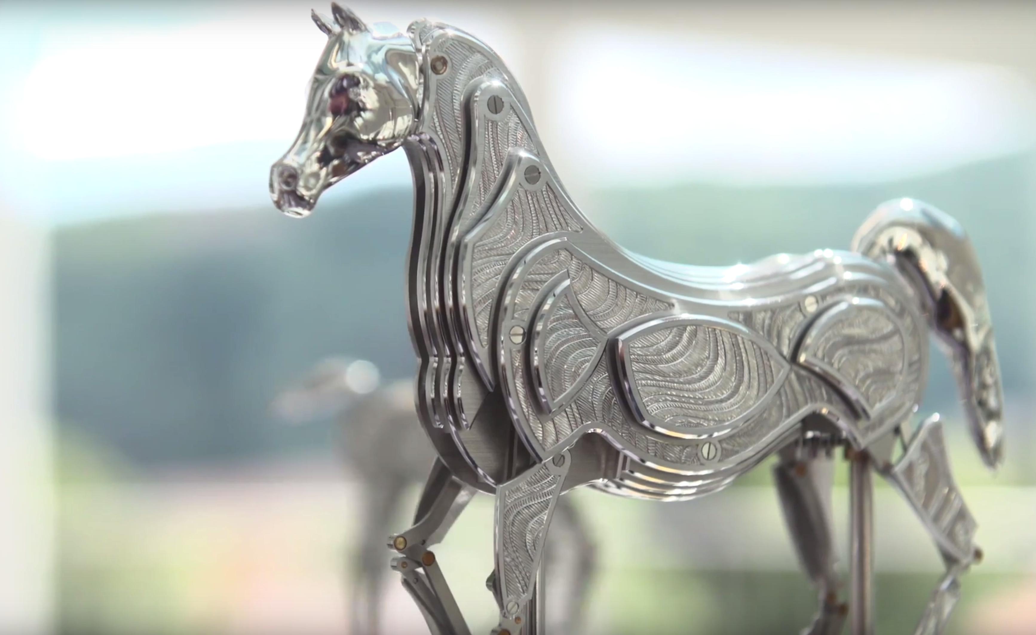 Automates François Junod : Les chevaux